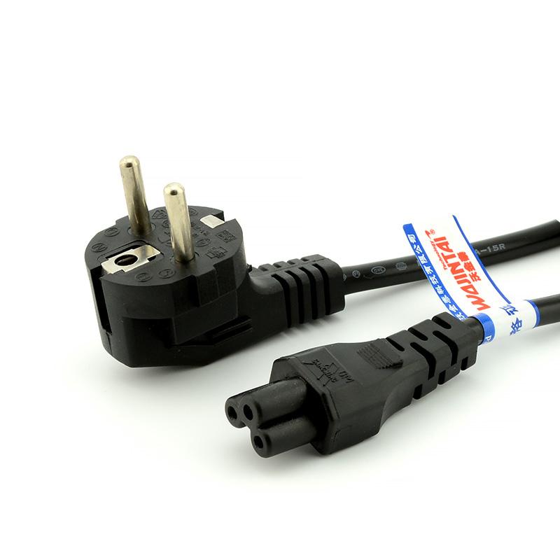 1 5 Meter 90 Degree European Eu Plug Or Cee7 7 To Iec 320