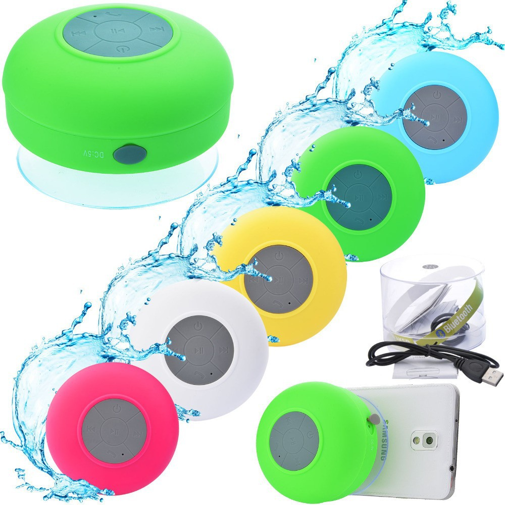 2015 Hot Sale Indoor Speaker Distributor Waterproof Indoor Bathroom Speaker Portable Small Mini Spaceship Speaker(China (Mainland))