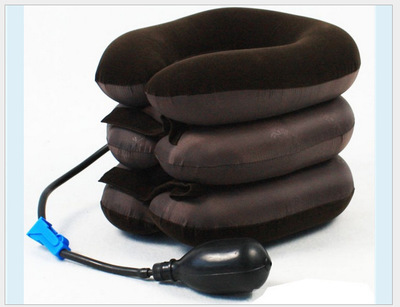 by DHL 20pcs free shipping Headache Shoulder Traction Soft Device Air Cervical Neck Back Massager(China (Mainland))