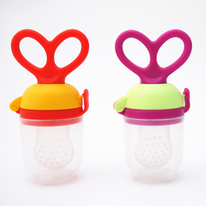 Non-Toxic Nipple Nibbler Feeder Baby Pacifier Fruit and Vegetable Baby Feeder Feeding Tools 1 Piece(China (Mainland))