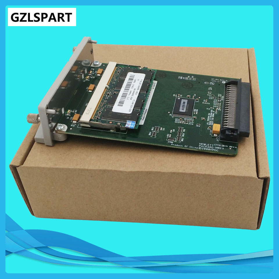 C7772A For HP Designjet 500 plus GL2 Card Formatter Board Card +128M Fixes 05:09 05:10 ink plotter printhead board printer parts(China (Mainland))