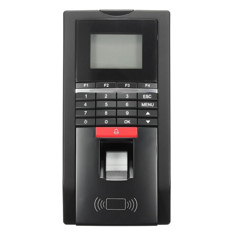 NEW Fingerprint Card Password Employee Time Attendance Clock R Door Access Control U disk Upload Download(China (Mainland))