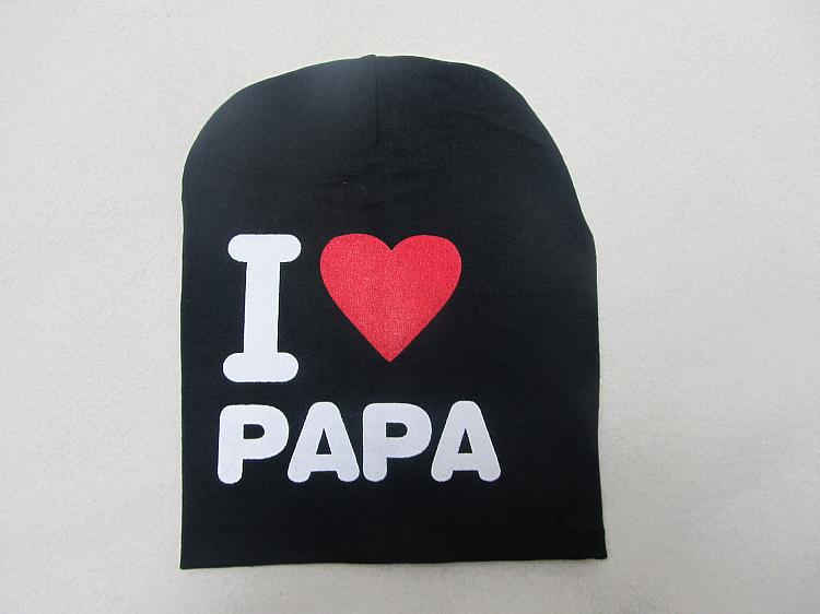 20cm wide 18cm high Mom and Dad I love super popular children s knit cap sleeve