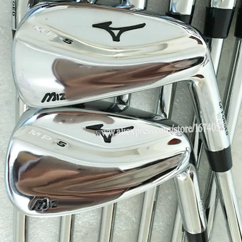 New Golf Clubs MP-5 Golf irons Set 3-9P with Steel Golf shaft irons clubs Free Shipping(China (Mainland))