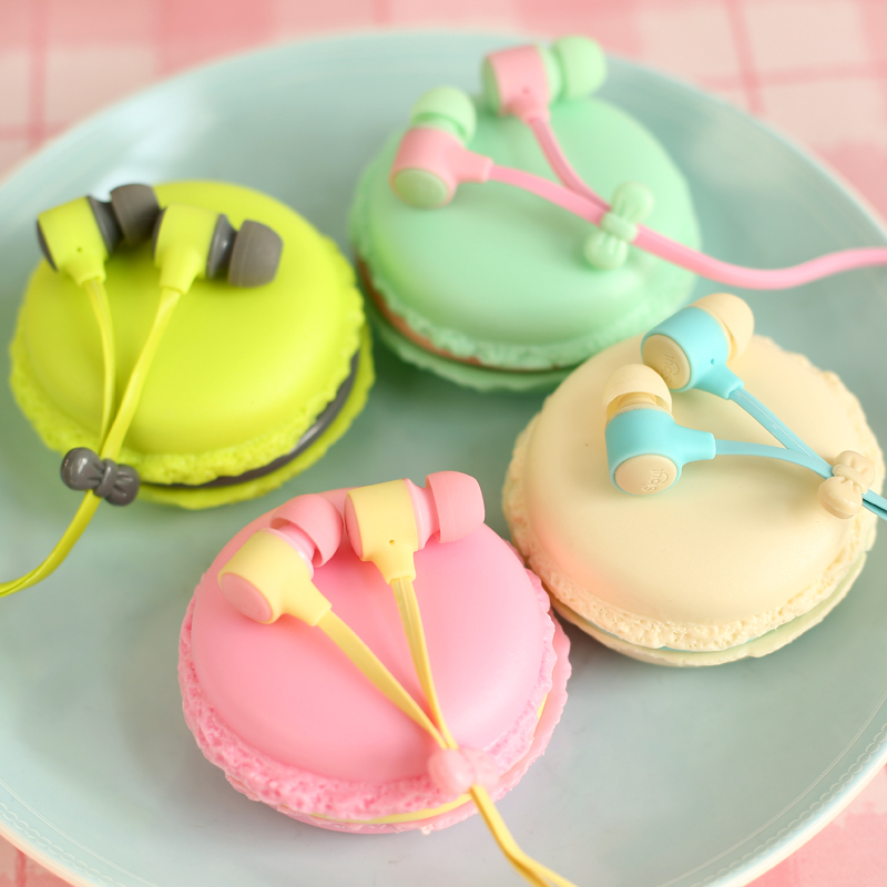 Birthday Gift Macaron Sport Earphone to ear Headset Phone Computer MP3 Headphone fone de ouvido auriculares celulares electronic(China (Mainland))