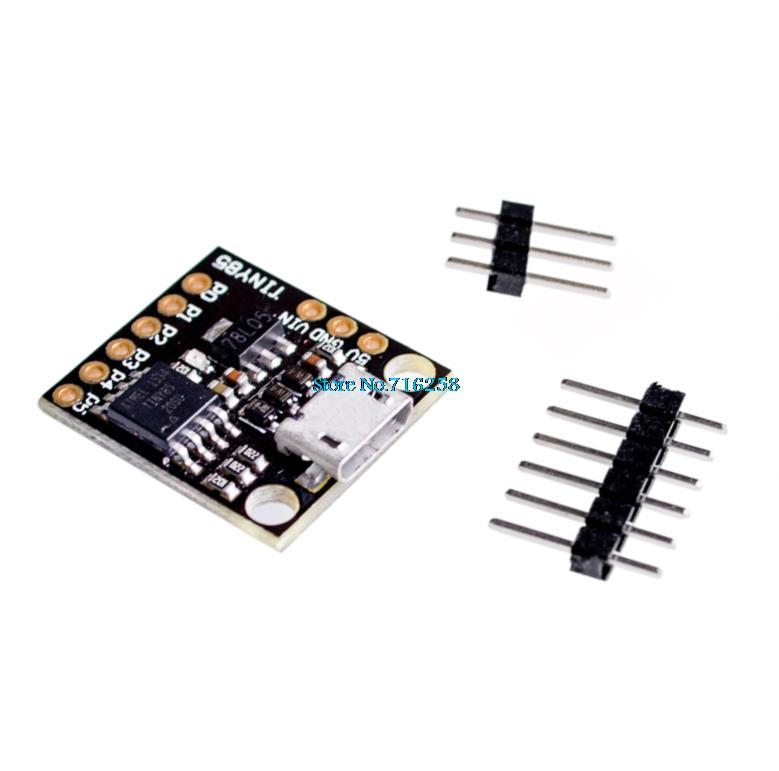 5pcs/lot CJMCU Micro Attiny85 Mini USB Development Board + Tracking Number SKU:11416(China (Mainland))