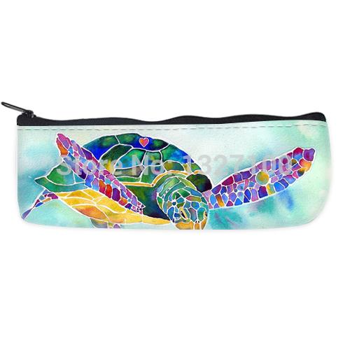 home decor Sea weed sea turtle painting Custom Pencil Case Bag cover(China (Mainland))