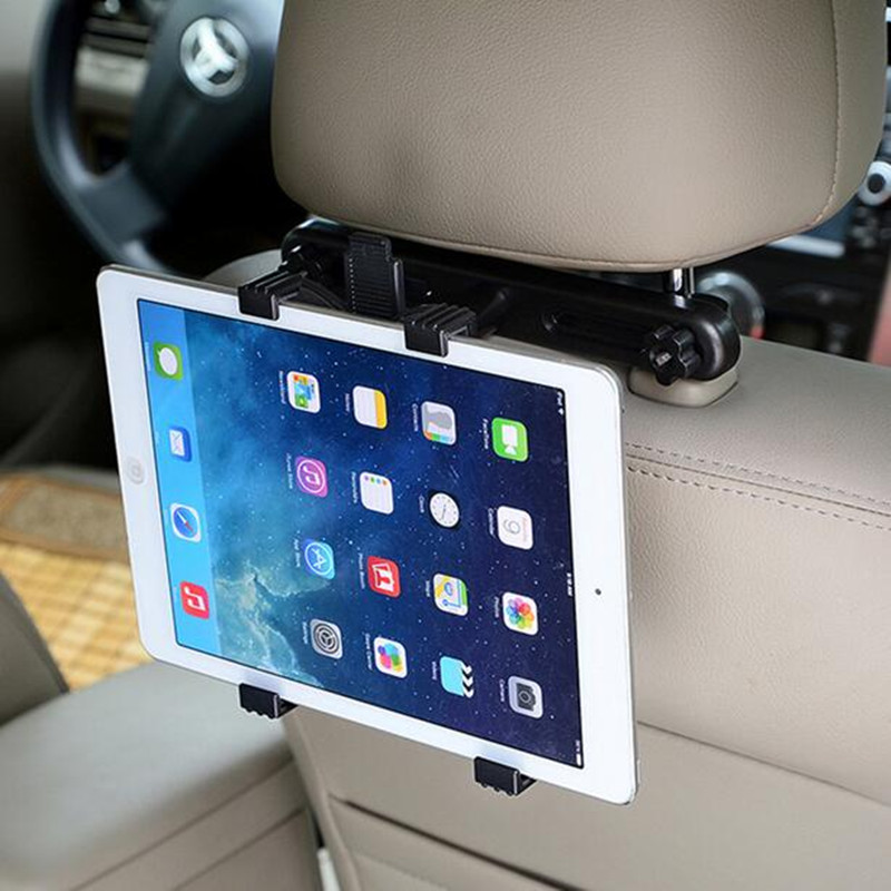 Pad Tablet Stand for Backseat HeadRest Plastic Adjustable Mount Holder for iPad Stable Fixing Lock Steadily Shock Slip Resistant<br><br>Aliexpress