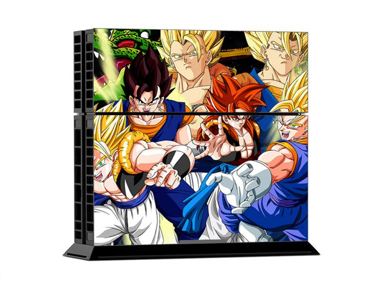 GOKU DRAGON BALL For ps4 skin stickers hotspur console faceplates spurs controller decal