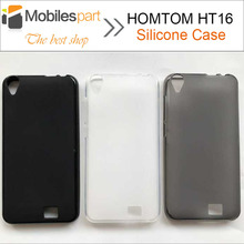 Buy HOMTOM HT16 Case High Protector Matte TPU Silicone Case Back Cover HOMTOM HT16 Pro Smartphone for $1.99 in AliExpress store