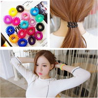 1pc Top Selling Novelty Cute Candy Colors Telephone Line Gum For Hair Jewelry Scrunchy Capitium Headbands A10R19C