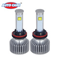 Auto Care 2PCS H8 H9 H11 Led Cob Car Headlight 40W 3600LM 6000K Xenon White Bulb