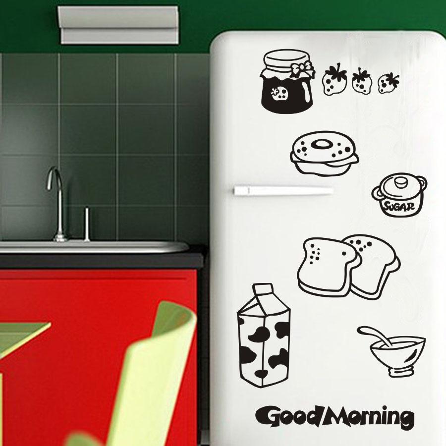 Creative cartoon kitchen cabinets breakfast dessert for Cartoon kitchen cabinets