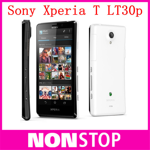 Original Sony Xperia T LT30P unlocked mobile phone Sony LT30 16GB Dual-core 3G GSM WIFI GPS 4.55'' 13MP Smartphone Dropshipping(China (Mainland))