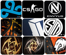 Exclusive Design QCK Gaming Mouse pad CSGO CLOUD9 ENVYUS TSM TITAN NIP  Virtus pro Mouse pad Gaming mouse mat e-sport mouse pads(China (Mainland))