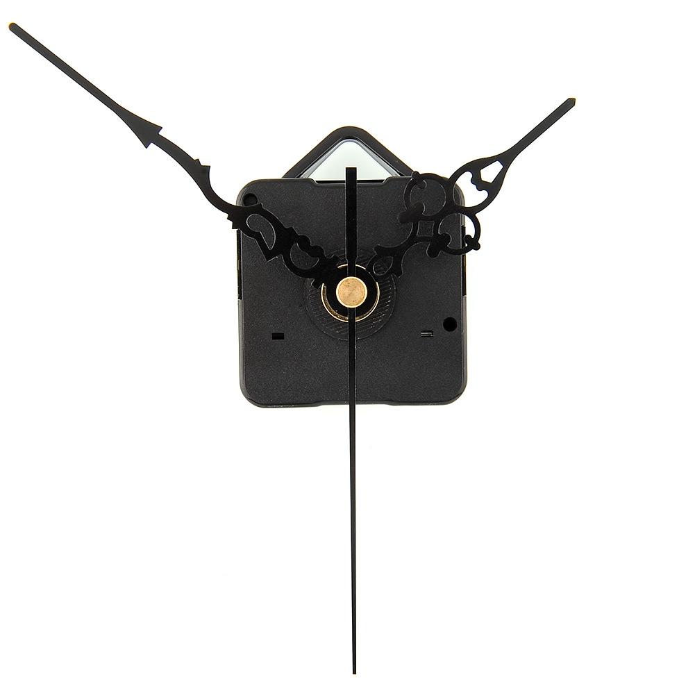 Hot New DIY Mechanism Quartz Clock Movement Parts Replacement Repair Tools Set Kit All-Black Hands Gift elegant(China (Mainland))