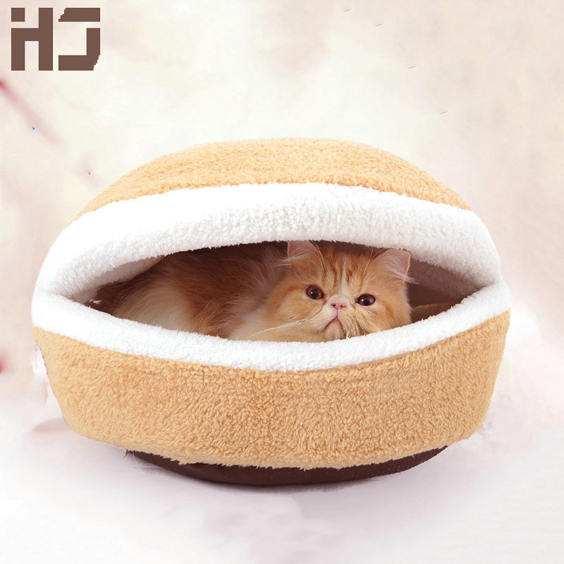 Cotton Pet Cat Mat Winter Warm Cat Bed Dog Cute House Small Dog Kennel Waterproof Sofa Cute Pet Sold Cats Houses JCW116(China (Mainland))