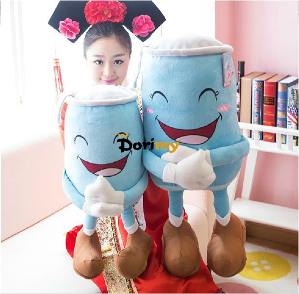 Dorimytrader Funny Item 28'' / 70cm Stuffed Large Soft Plush Cute Cartoon Pop Can Toy, 2 Colors Available, Free Shipping DY60146(China (Mainland))