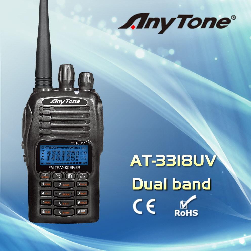 AnyTone radio AT-3318UVA dual band radio +PC cable(China (Mainland))