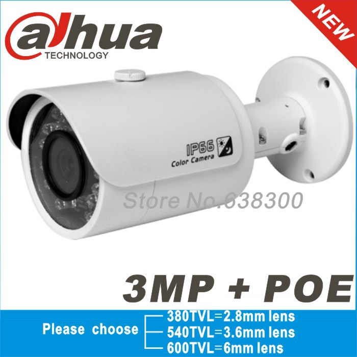2014 Original Dahua IPC-HFW4300S P1080P gun waterproof network camera 3MP IR ip camera cctv camera(China (Mainland))