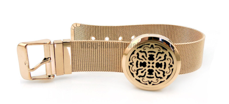 VH-PDL158-14 Diffuser Locket Bracelet