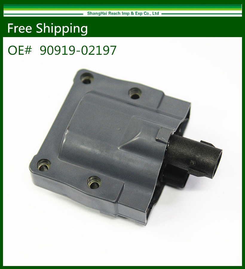 New Ignition Coil For LS400 Toyota Camry Celica 4Runner MR2 T100 Pickup Front 90919-02197 9091911-02208(China (Mainland))