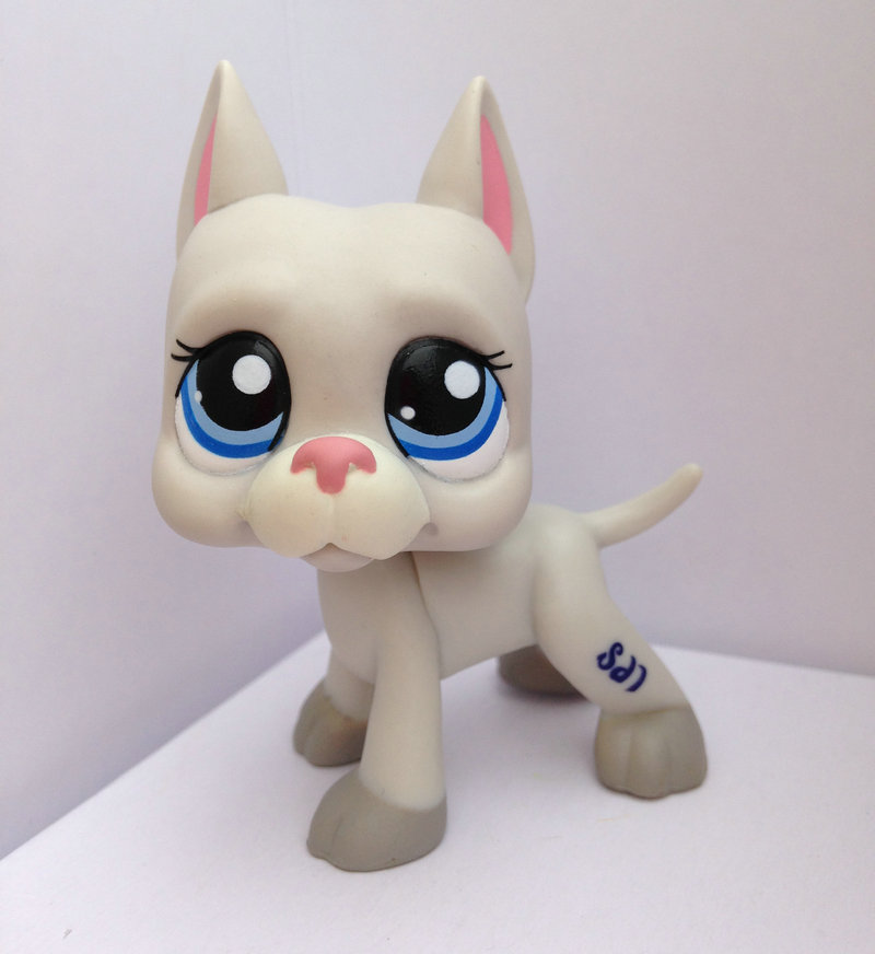 LITTLEST PET Animals Collection LPS Figure Girl Dane Dog Without Magnet DWA339(China (Mainland))