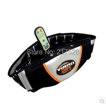 Free shipping Loss Weight New Slender Fat Burning Slim Massage Belt Slim Belt massager Vibro shape belt