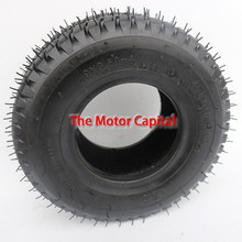 9x3.50-4 Tire for Pocket Bike Go Kart Mobility Scooter atv Zooma Mower GoPed Zooma 4 PLY RATING 85 P.S.I  free shipping(China (Mainland))