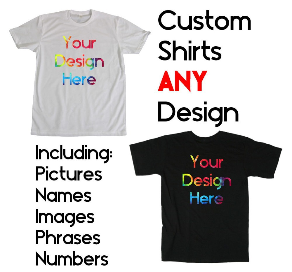 Wholesale custom printed personalized t shirts designer for Cheap t shirt online shopping