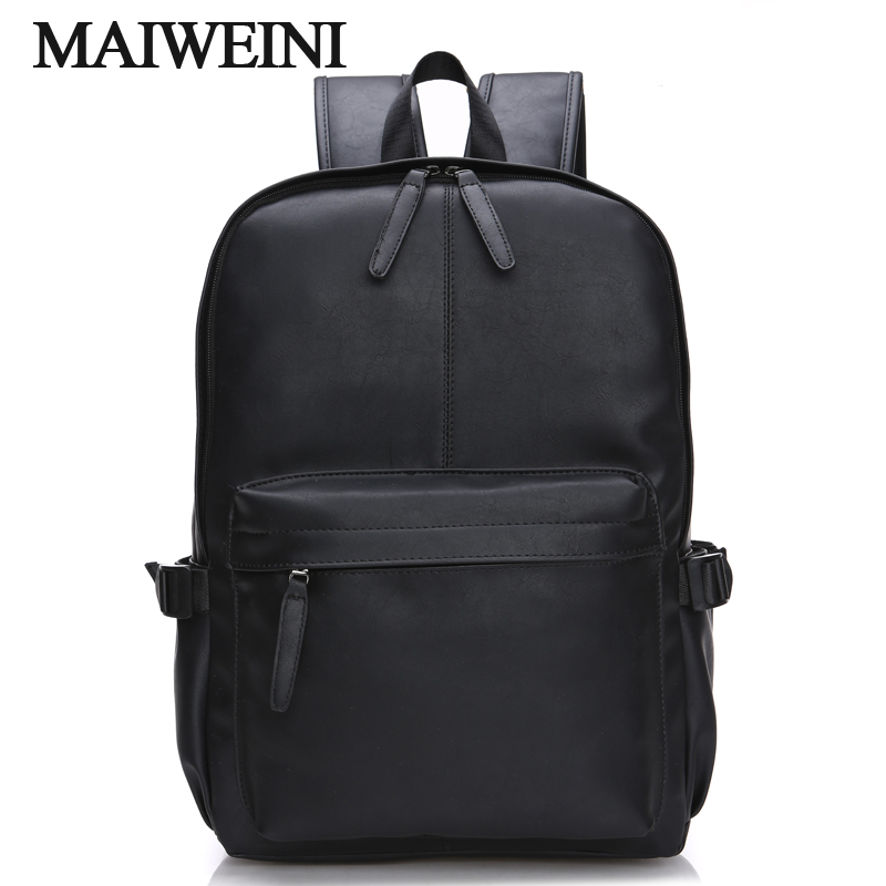 Fashion Men Backpack For Sale PU Leather Laptop PackBags Carrier High Quality Male Travel Bags Free Shipping(China (Mainland))