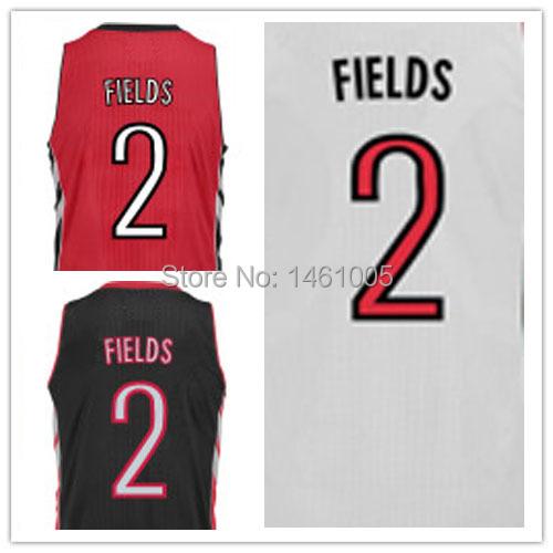Free Shipping - Stitched Toronto Basketball Jersey #2 Landry Fields Authentic Basquete 30 White Home Road Alternate Men Jerseys(China (Mainland))