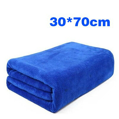 10 pcs Clean towel Soft absorbent Dry hair towels hotel spa Beauty towel outdoor car wash towel 30 x 70 cm(China (Mainland))
