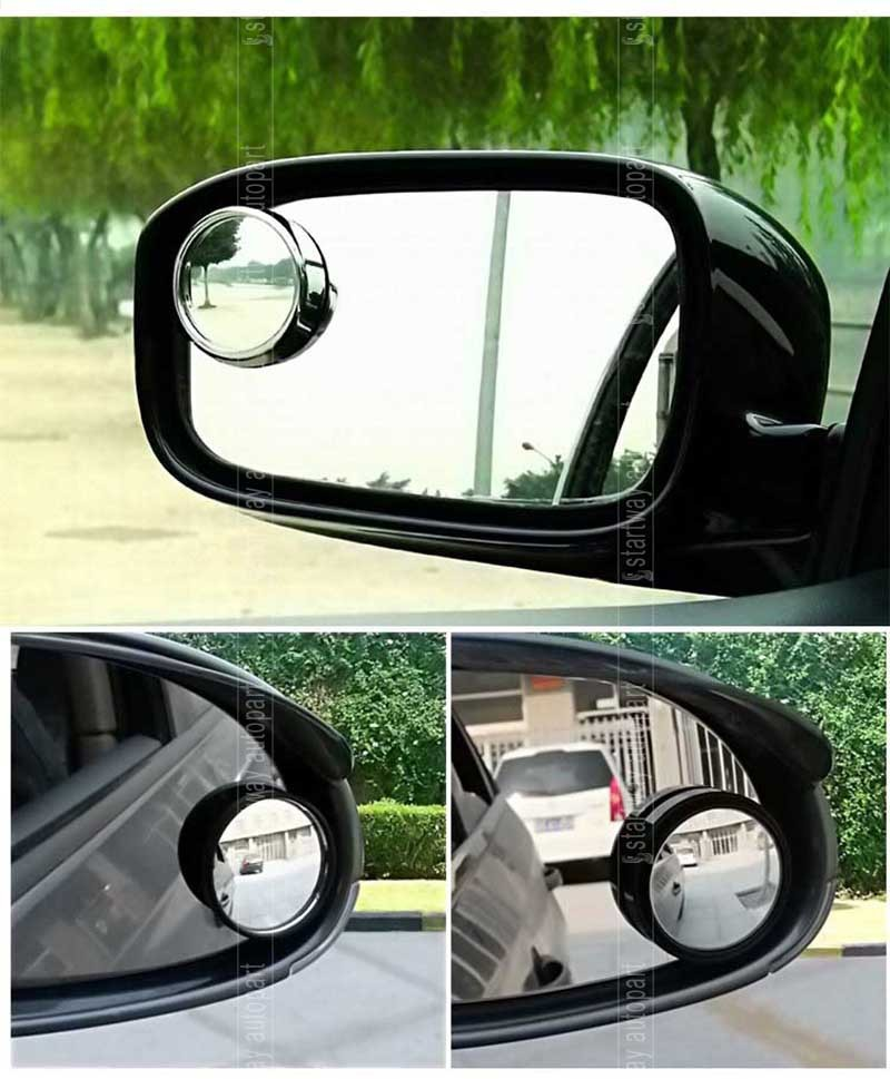 Blind Spot Convex Car Rearview Round Mirror Security Assistance 360 degree Wide Angle Parking Assist Mirror(China (Mainland))