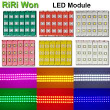 20pcs 12V waterproof 5730 3LEDs Injection molding LED Module super bright led modules lighting red/green/blue/Yellow/Pink/Warm(China (Mainland))
