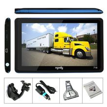 7 Inch 4GB 128MB FM Best GPS Navigation System Car TRUCK Navigation Equipment Navigation GPS System Live Tracking USA Stock(China (Mainland))