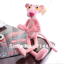 50cm 1pc high quality NICI Leopard genuine pink pinkpanther doll plush toys children birthday gift free shipping(China (Mainland))