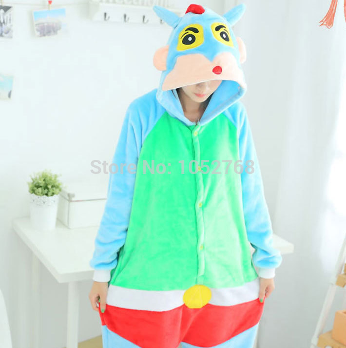 Halloween Monster Bull Kawaii Pyjamas Hooded Anime Onesie Cosplay Costume Animal Pajamas for Adults