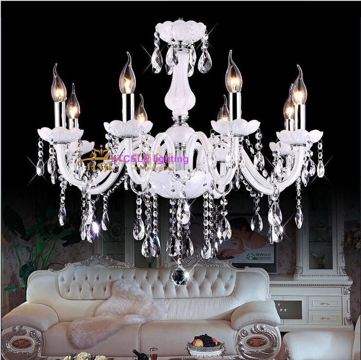 Buy Modern Crystal Chandelier Home Lighting lustres de cristal ...