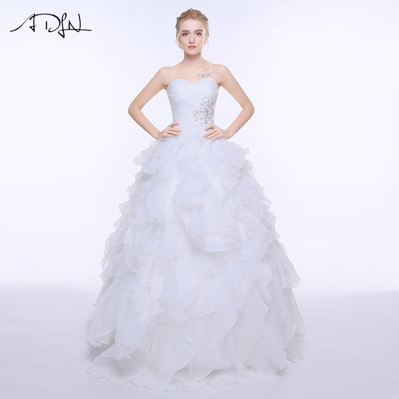 Online buy wholesale corset bridal gowns from china corset for Cheap ivory wedding dresses