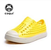Цвета конфеты ребенка сад обувь для мальчиков девочек пляжные сандалии дышащий детская обувь свободного покроя лето Zapatos ева сабо