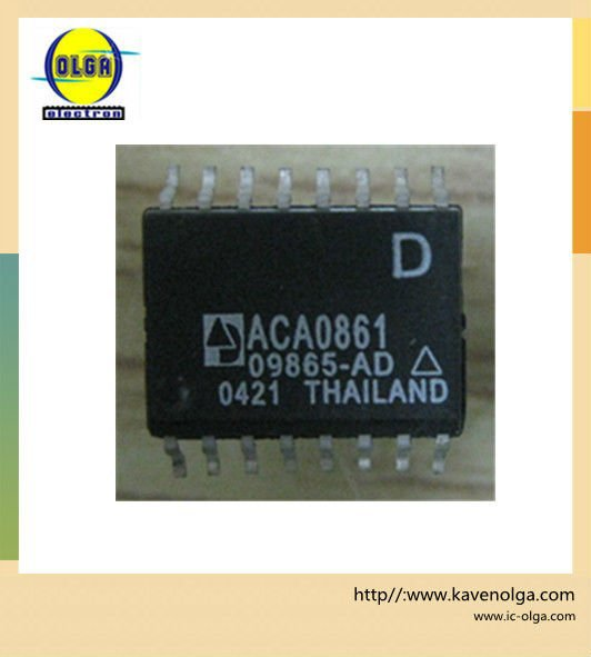 ACA0861 - 750/860 MHz CATV LINE AMPLIFIER MMIC and Free shipping.(China (Mainland))