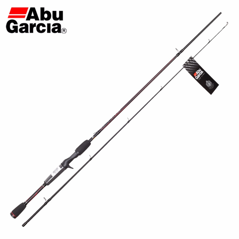Abu Garcia 2 Sections BMAXC 662M Casting Fishing Rod 1.98M Carbon Fiber Fishing Rod M Power Ceramic Guide Rings Rod For Fishing(China (Mainland))