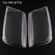 Hot Car Pair Plastic Headlight Lamp Lenses Clear Transparent Housing Assembly For VW JETTA BORA MK4 99-05 High quality(China (Mainland))
