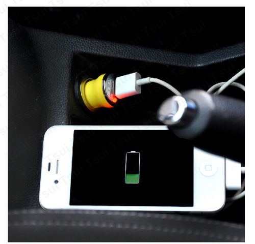 Micro Auto Universal 1 Port USB Car Charger For iPhone 5S samsung S5 iPad 2 1A