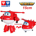 Big 15cm Super Wings Action Figure Toys Deformation Airplane Robot Transformation For Children Christmas Gift