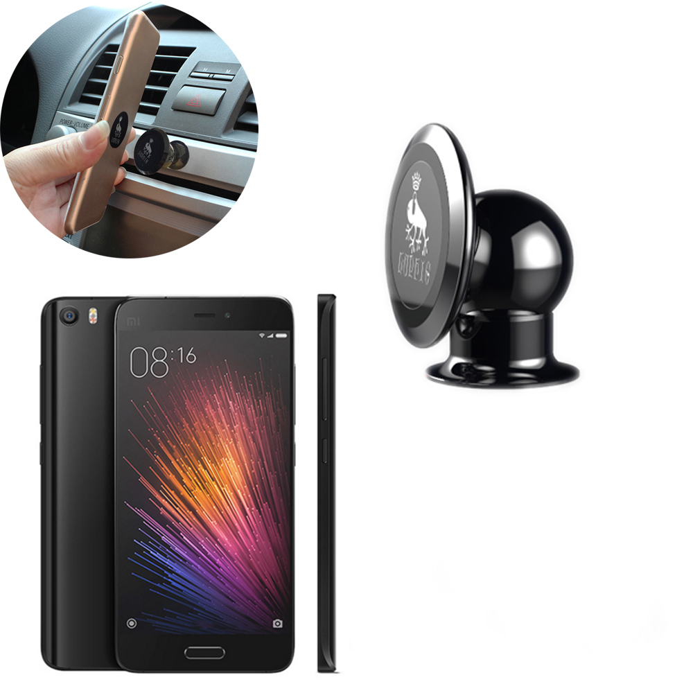 360 Degree Rotatable Magnetic Car Mobile Phone Holder, New Brands Luphie Holder Stand XiaoMi Mi5 Mi 5 - Deep Source Technology Co,Ltd. store