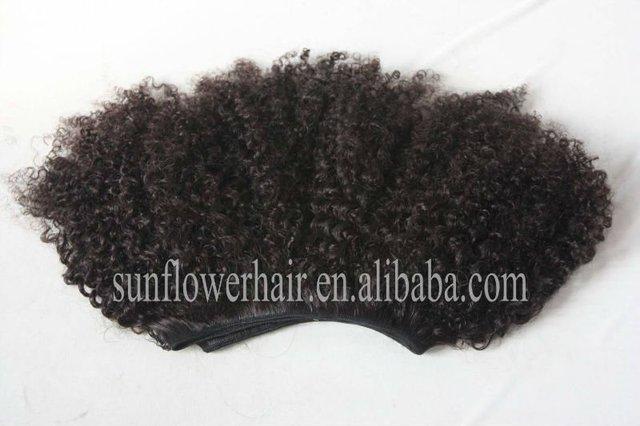 10a mongolian kinky curly hair bundles  mongolian afro kinky curly virgin remy  mongolian kinky curl hair weft 2pcs/lot