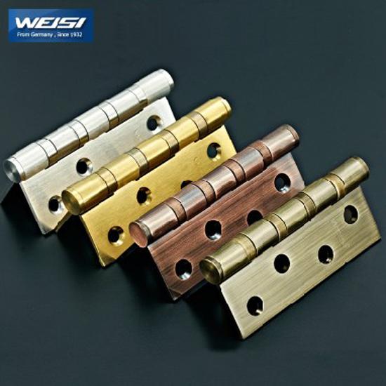 Stainless steel hydraulic bearing swing gate hinges, 4 inch 3MM thickness Door Hinge(China (Mainland))