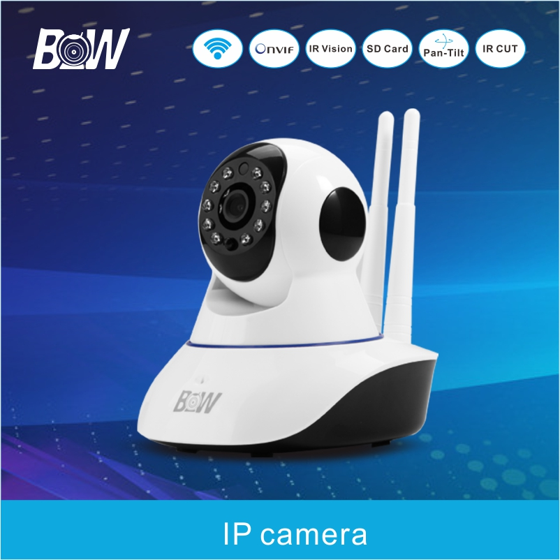 Hot Cell Phone App Control IP camera CCTV Night Vision P2P Remote Alarm Security Camera Indoor Home Monitor Equipment BWIPC002D(China (Mainland))